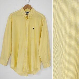 RALPH LAUREN gingham Classic fit Yarmouth shirt